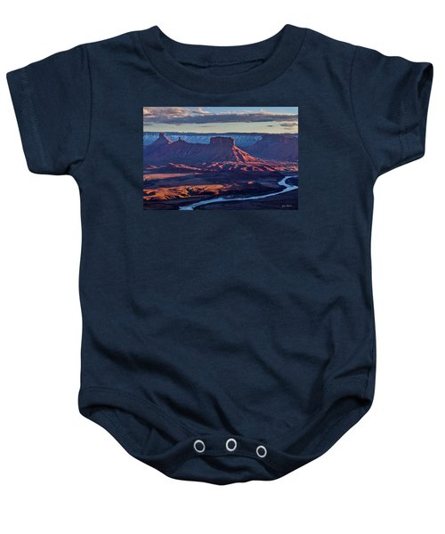 Sunset View From Omg Point Baby Onesie