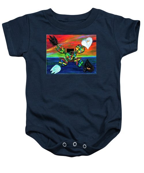 Sunseth In Atlantis Baby Onesie