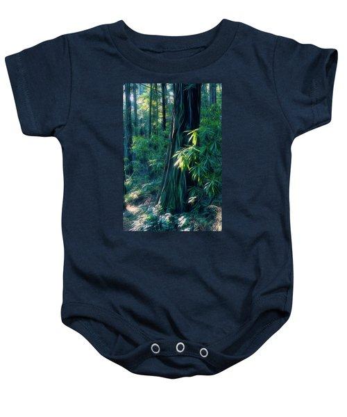 Sunshine In The Forest Baby Onesie