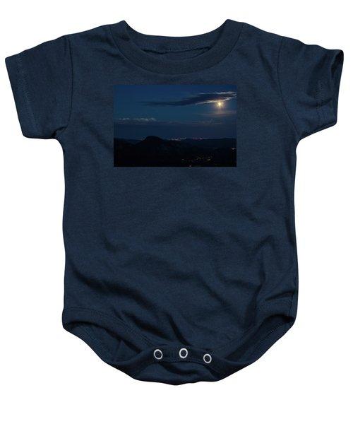 Super Moon Eclipse Baby Onesie