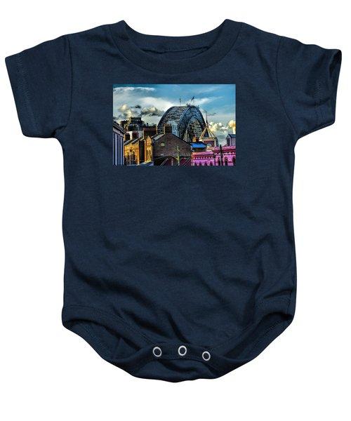 Sydney Harbor Bridge Baby Onesie