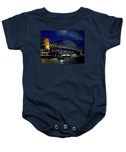 Sydney Harbour Bridge Baby Onesie