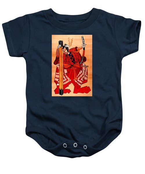 The Age Of The Samurai 04 Baby Onesie