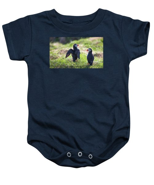 The Angel Puffin Baby Onesie