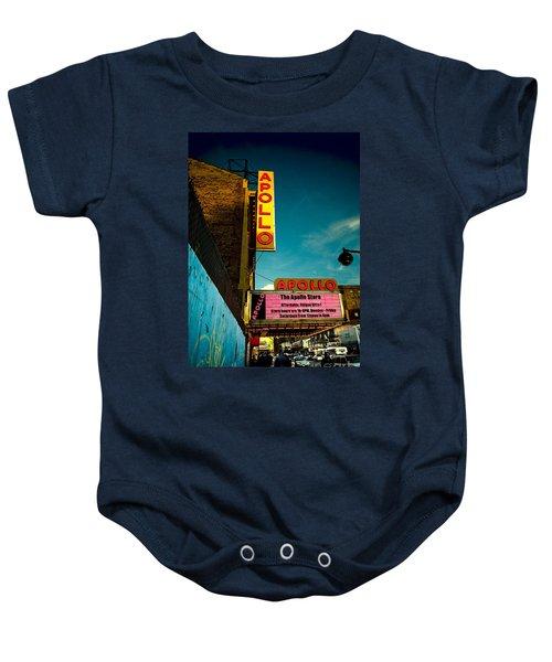 The Apollo Theater Baby Onesie by Ben Lieberman