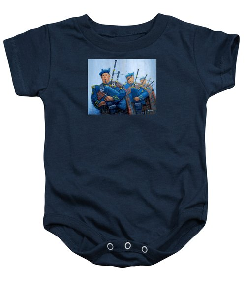 The Bagpipers Baby Onesie