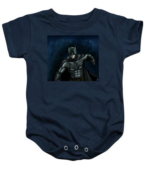 The Batman Baby Onesie by Vinny John Usuriello