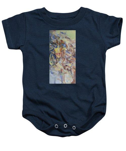 The Dream Stelae / Nefertiti Baby Onesie