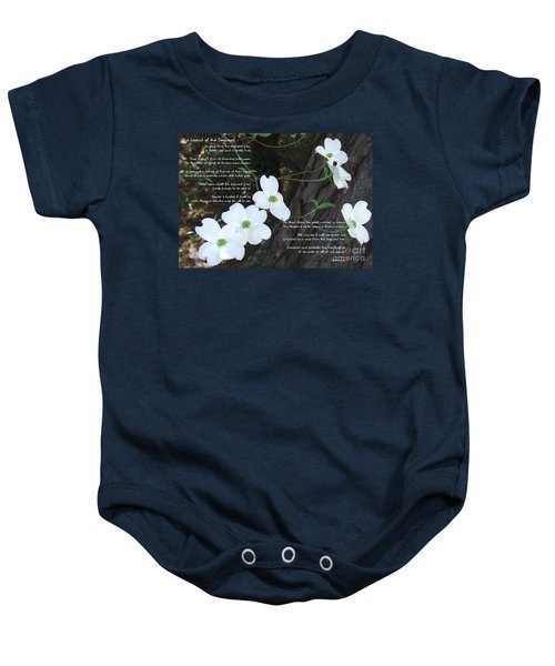 The Legend Of The Dogwood Baby Onesie
