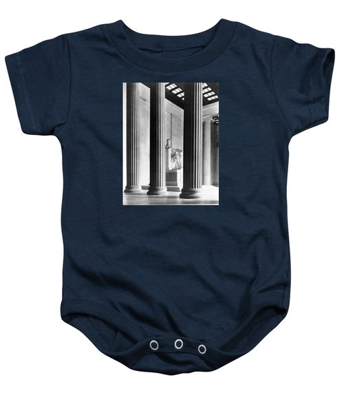 The Lincoln Memorial Baby Onesie