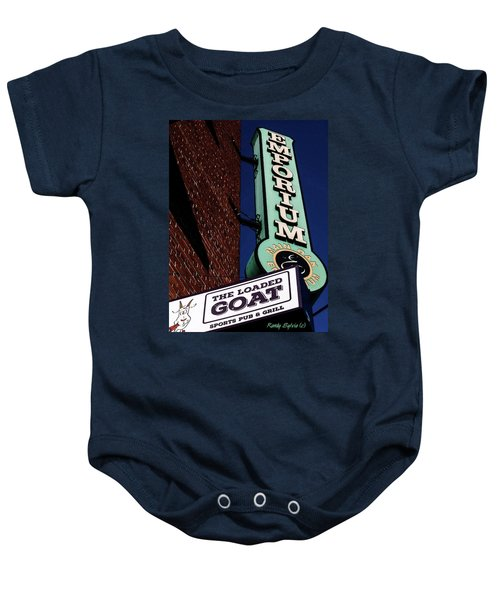 The Loaded Goat Baby Onesie