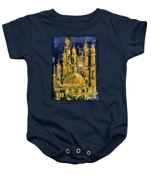 The Mosque-3 Baby Onesie