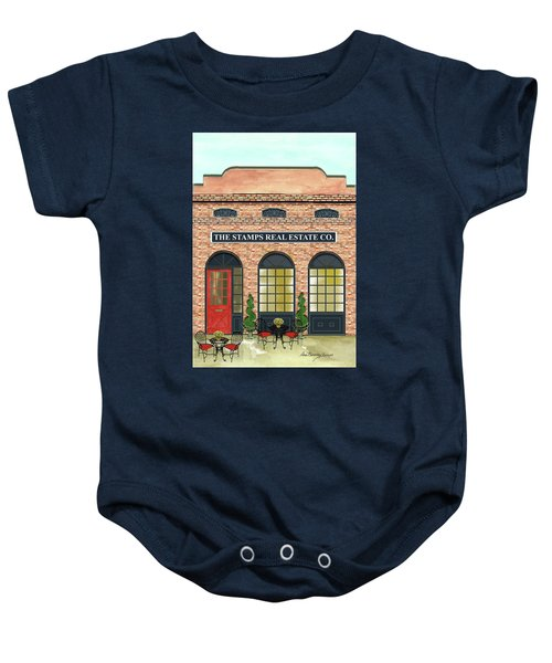 The Stamps Real Estate Co. Baby Onesie