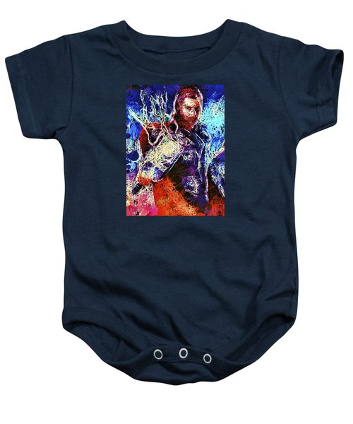 Thor Charged Up Baby Onesie