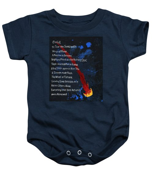 To Fall Baby Onesie