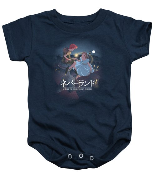 To Neverland Baby Onesie by Saqman
