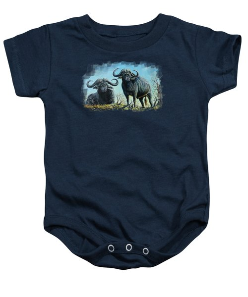 Tough Guys Baby Onesie