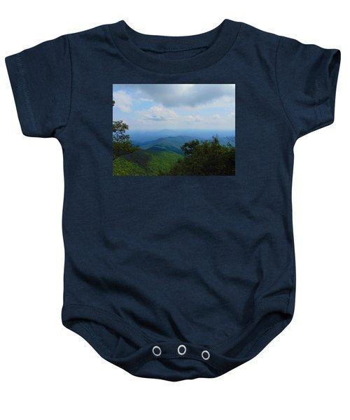 Tray Mountain Summit - North Baby Onesie