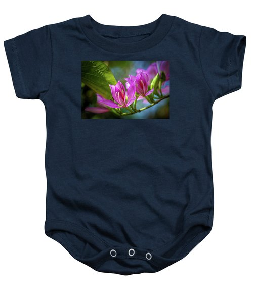 Tropical Line Dance Baby Onesie