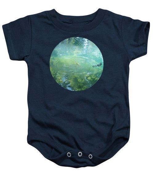 Trout Pond Baby Onesie