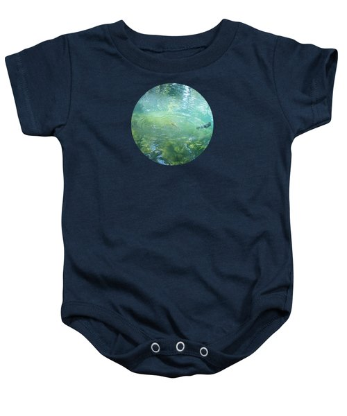 Trout Pond Baby Onesie