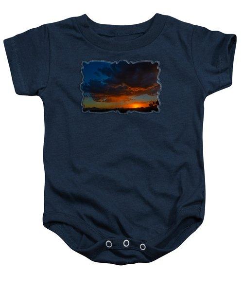 Tucson Sunset H59 Baby Onesie