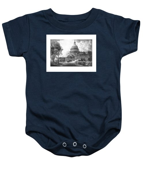 United States Capitol Building Baby Onesie