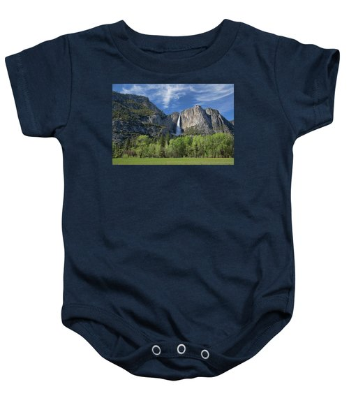 Upper Yosemite Falls In Spring Baby Onesie