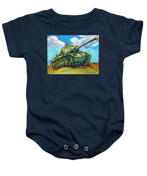 V. F. W. Tank Baby Onesie