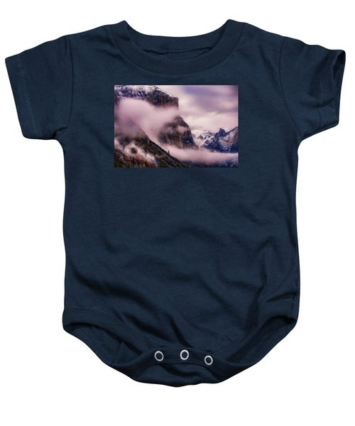 Valley Mood, Yosemite Baby Onesie by Vincent James