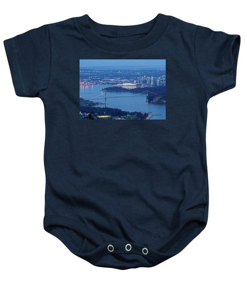 Vancouver Harbour Late Afternoon Baby Onesie