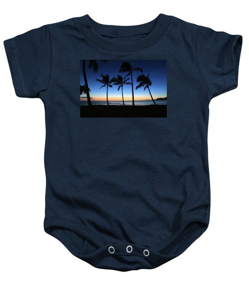 Venus At Sunset Baby Onesie