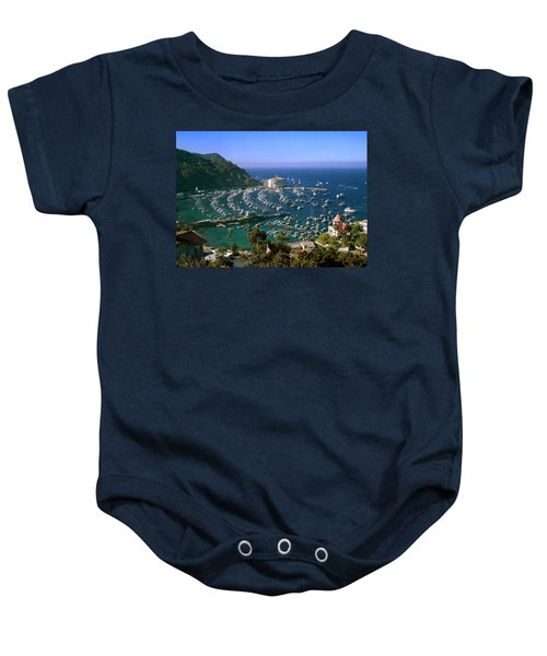 View Of Avalon Harbor Baby Onesie