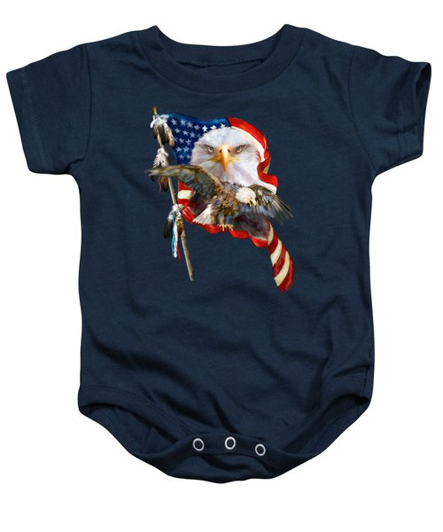 Vision Of Freedom Baby Onesie
