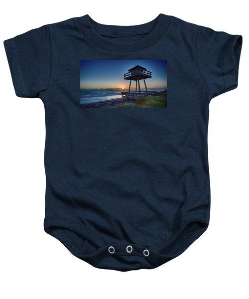 Watch Tower Sunrise 2 Baby Onesie
