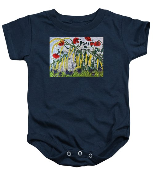 White Rabbit Baby Onesie