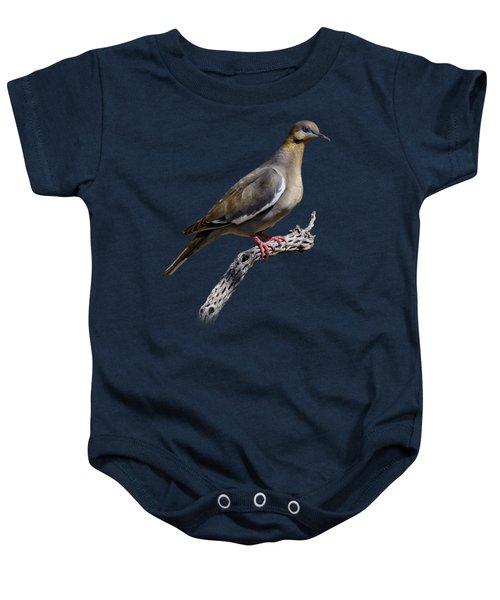 White-winged Dove V53 Baby Onesie