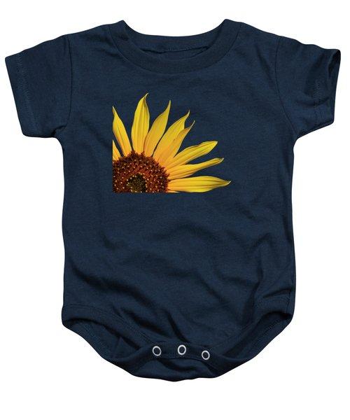Wild Sunflower Baby Onesie by Shane Bechler