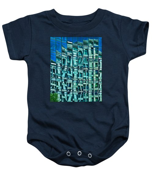 Windows In Windows Baby Onesie
