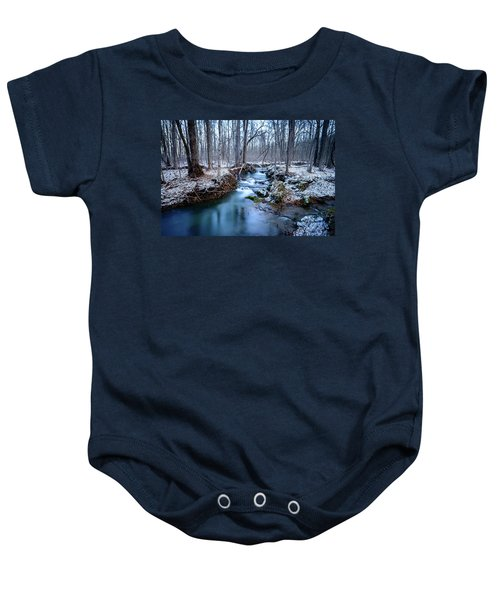 Winter Creek Baby Onesie