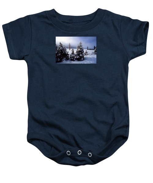 Winter Takes All Baby Onesie