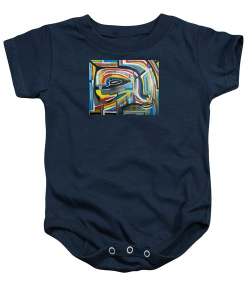 Wired Dreams  Baby Onesie by Jose Rojas