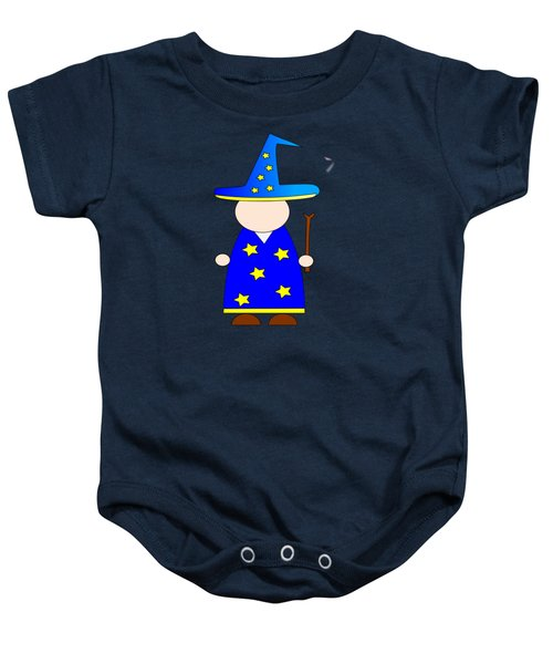 Wizard #2 Baby Onesie by Frederick Holiday