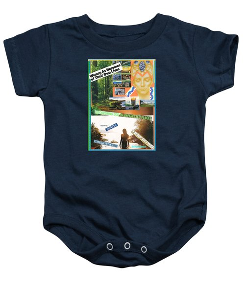 Woman As Inspiration Baby Onesie