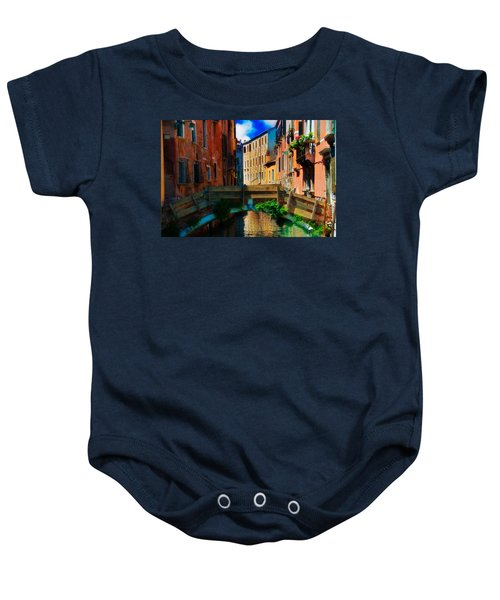 Wooden Bridge Baby Onesie