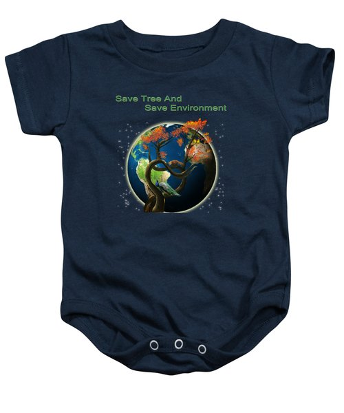 World Needs Tree Baby Onesie