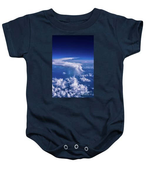 Writing In The Sky Baby Onesie