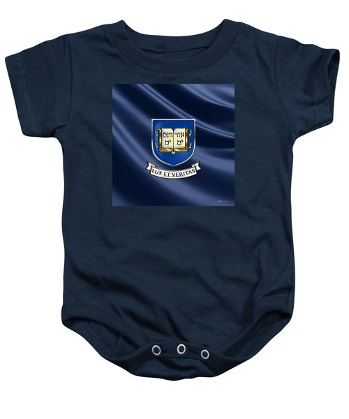 Yale University Coat Of Arms.  Baby Onesie