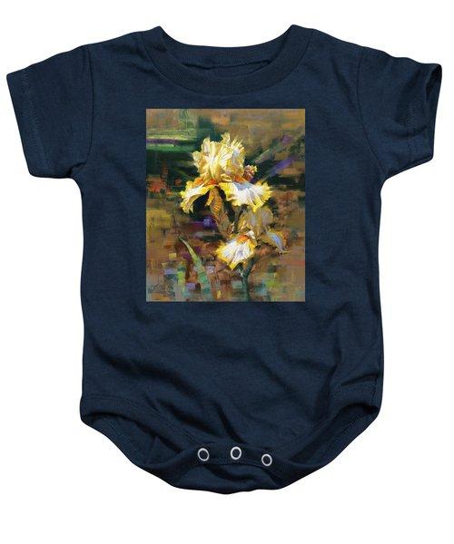Yellow Iris II Baby Onesie