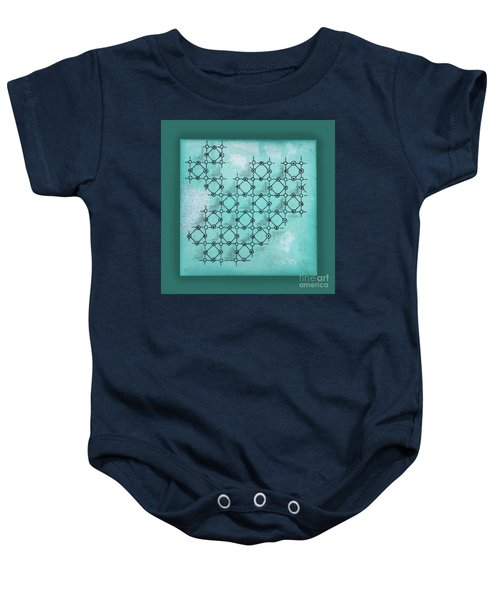 Abstract Biological Illustration Baby Onesie